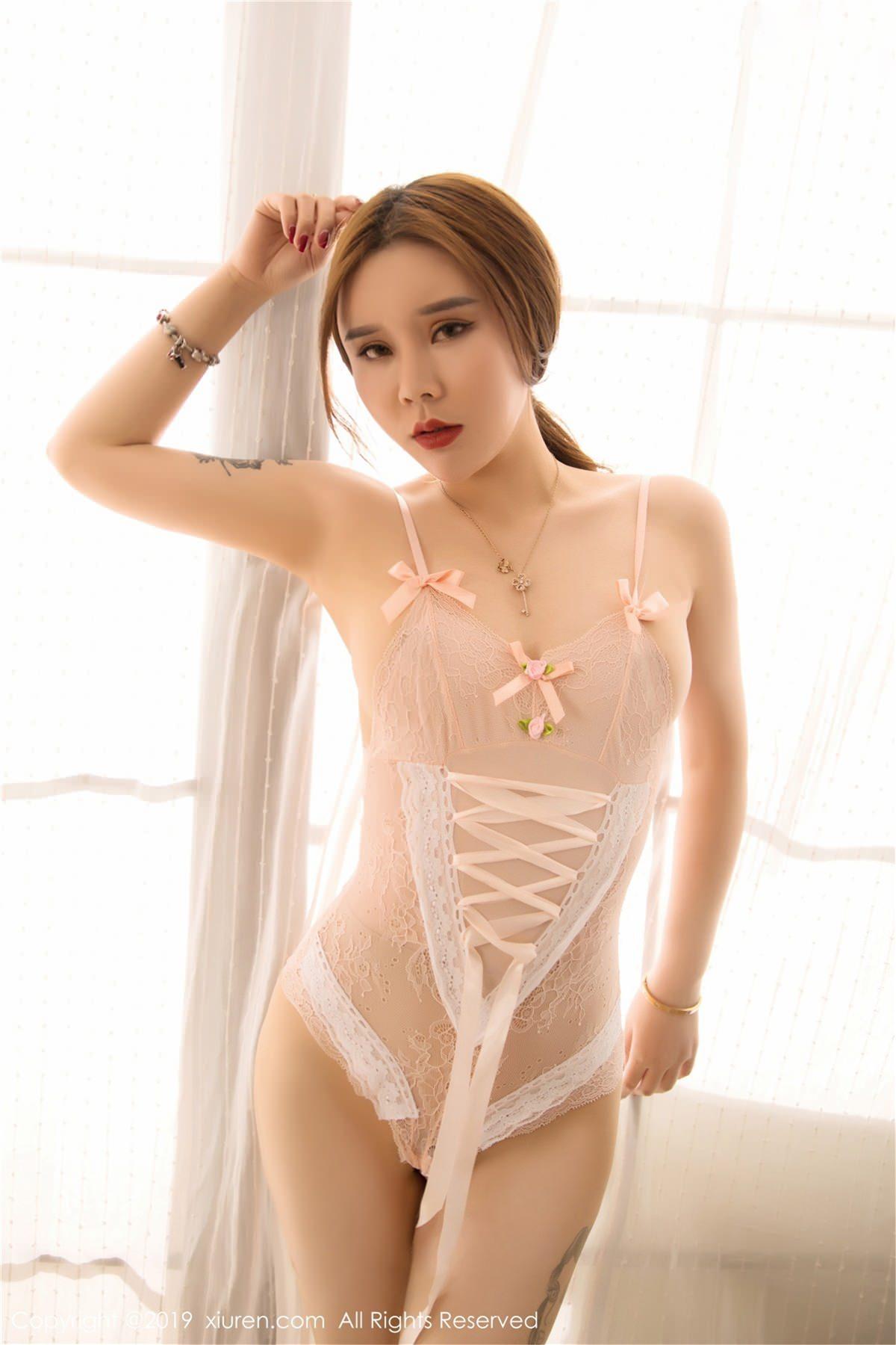 XiuRen No.1448 6P, Ai Li Sha Lisa, Xiuren