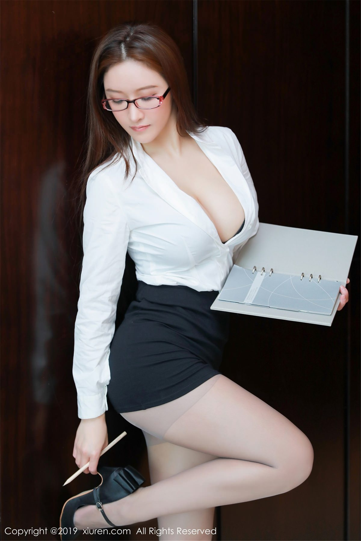 XiuRen No.1457 3P, Jennanni Jen, Xiuren