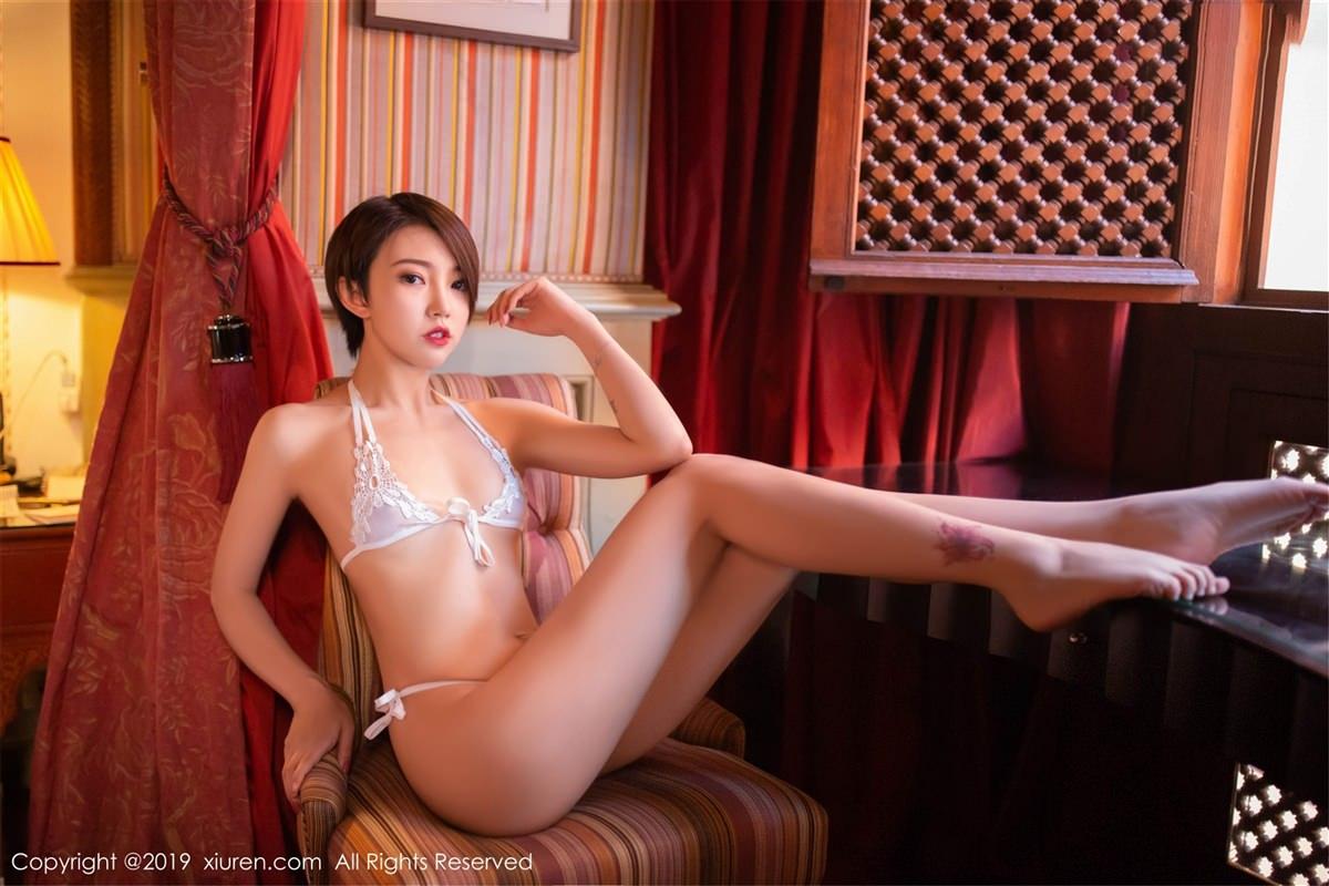 XiuRen No.1487 12P, Feng Mu Mu, Xiuren
