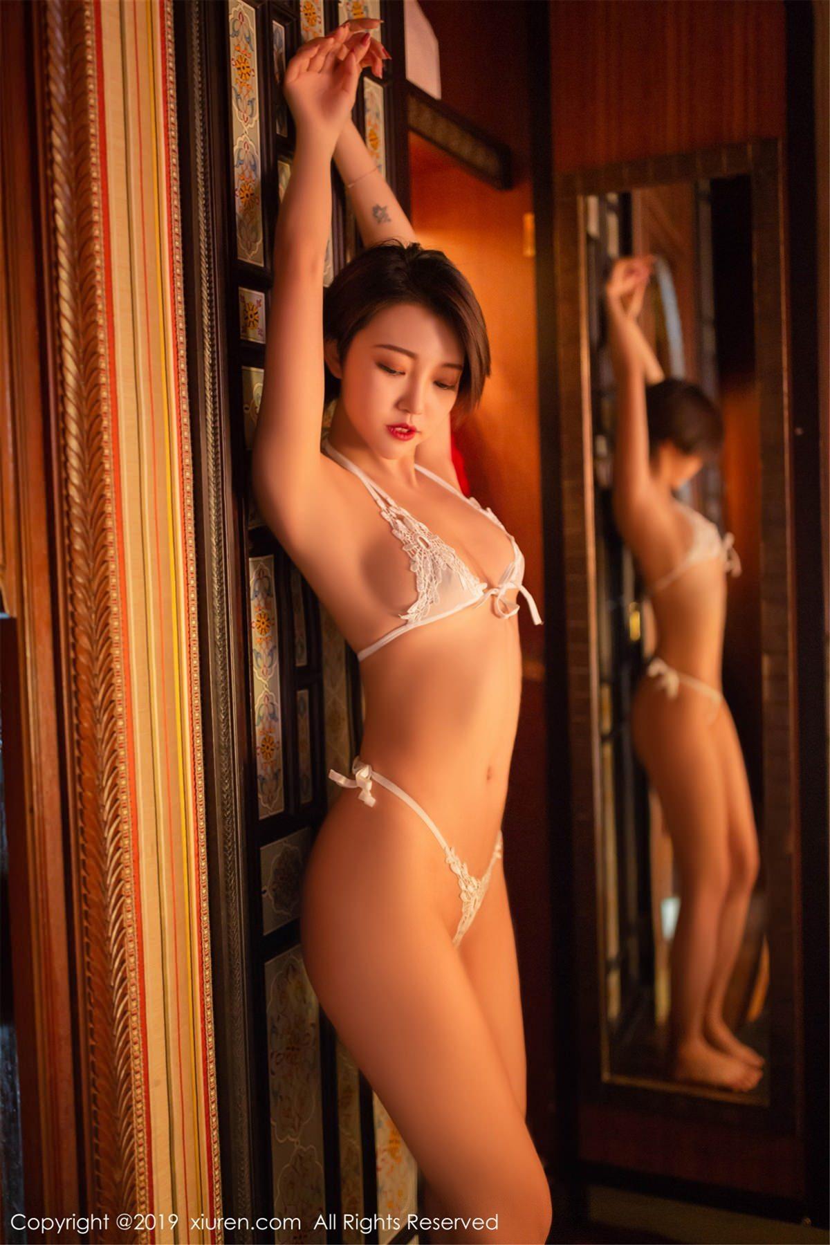 XiuRen No.1487 43P, Feng Mu Mu, Xiuren