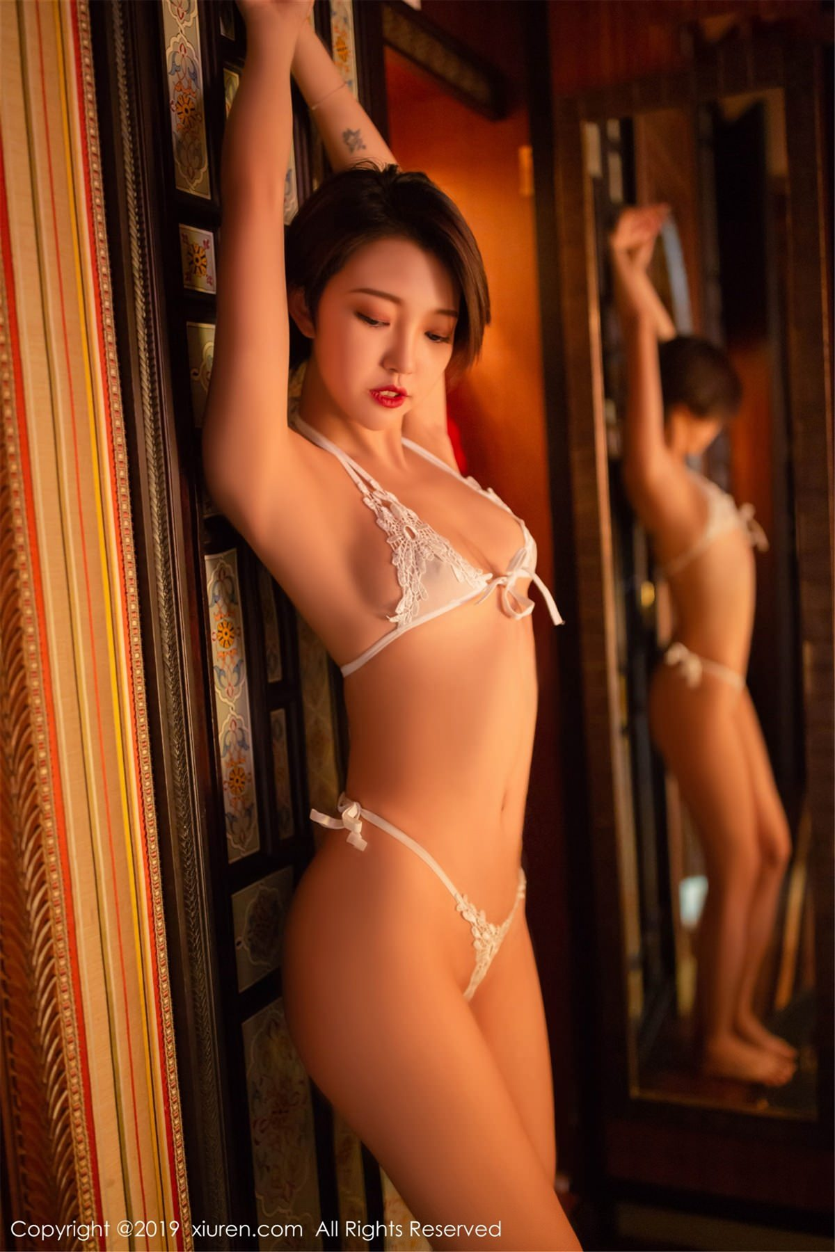 XiuRen No.1487 44P, Feng Mu Mu, Xiuren