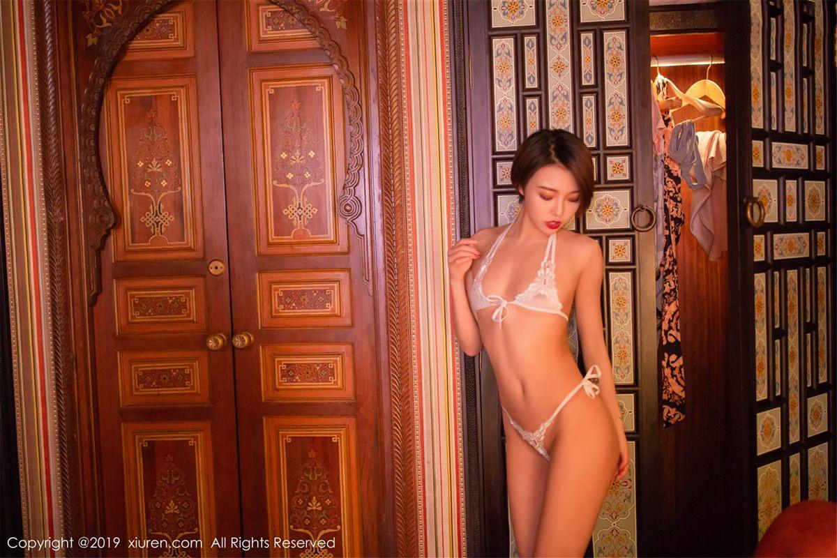 XiuRen No.1487 45P, Feng Mu Mu, Xiuren