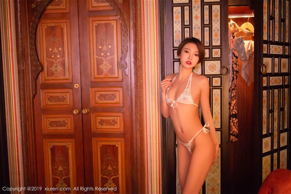 XiuRen No.1487 46P, Feng Mu Mu, Xiuren