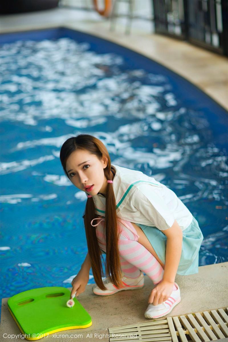 XiuRen No.866 2P, Ai Xiao Qing, Xiuren