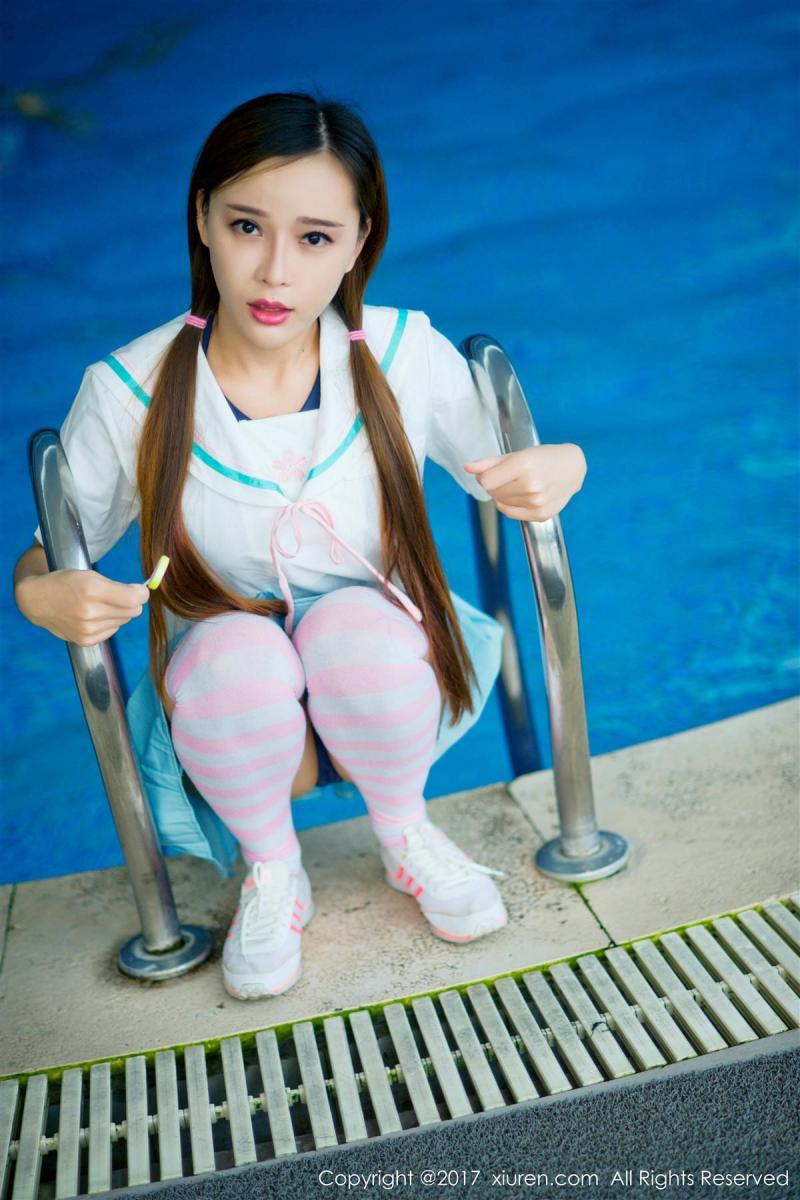 XiuRen No.866 7P, Ai Xiao Qing, Xiuren