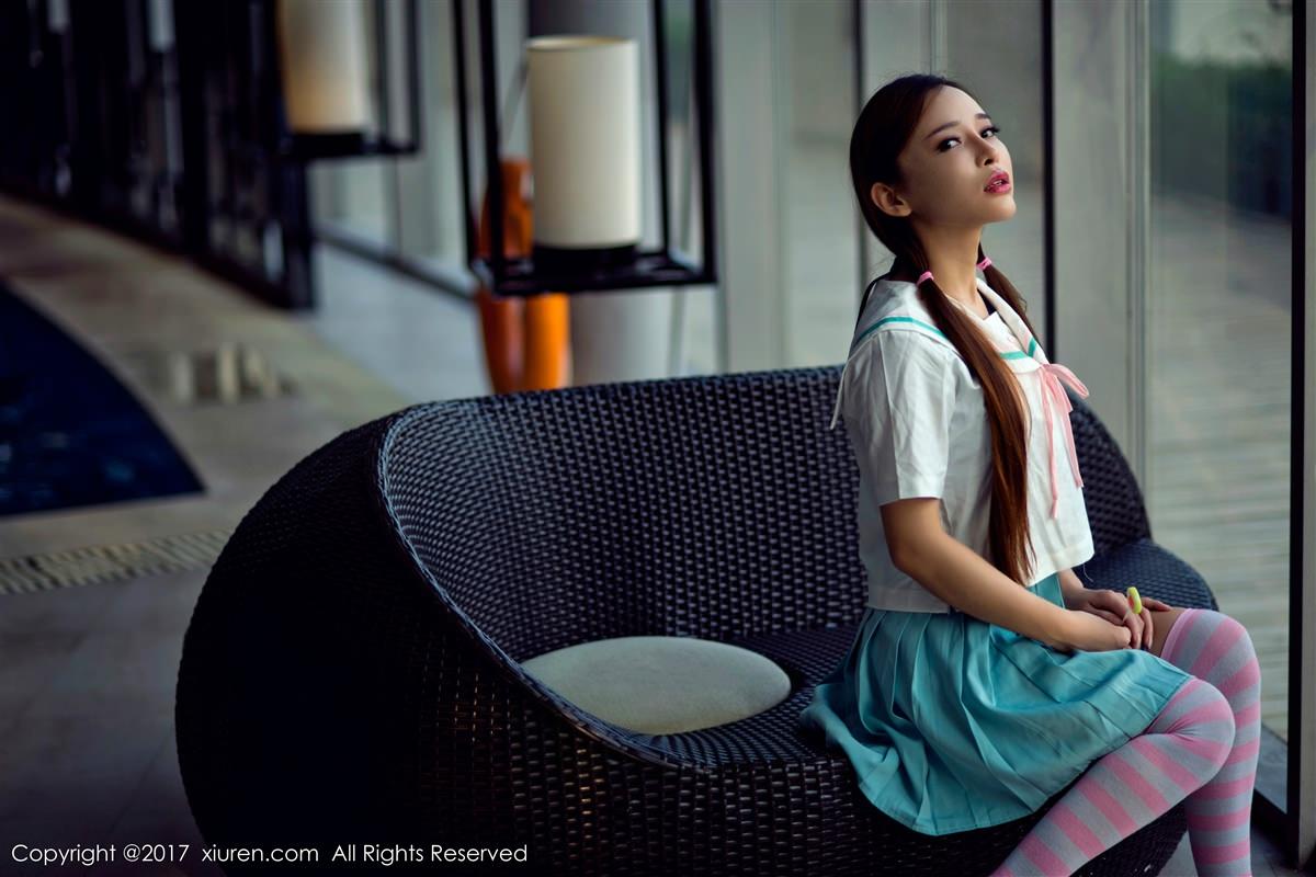 XiuRen No.866 9P, Ai Xiao Qing, Xiuren