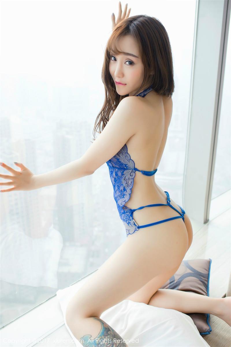 XiuRen No.881 3P, Xian Mi Er, Xiuren