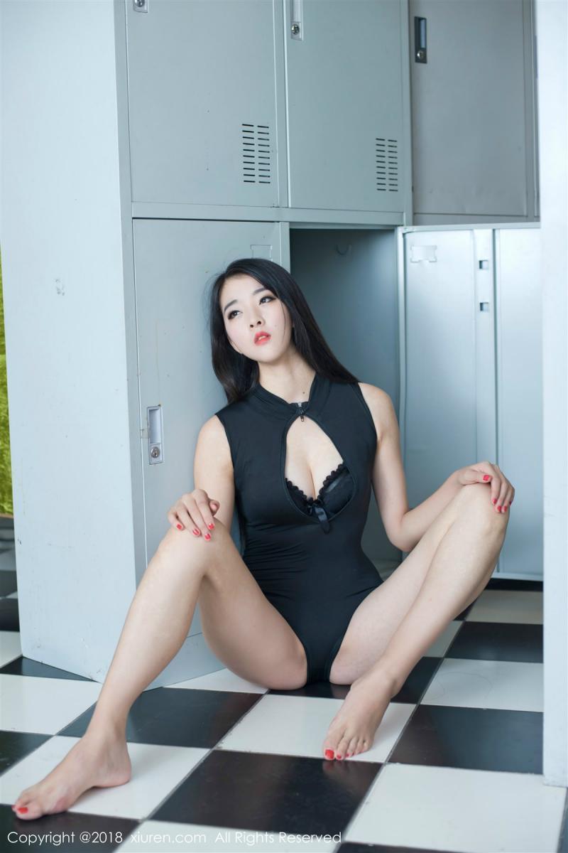 XiuRen No.885 45P, Kong Bai Ivy, Xiuren