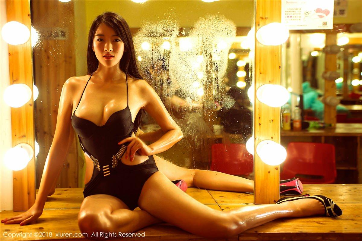 XiuRen No.885 5P, Kong Bai Ivy, Xiuren