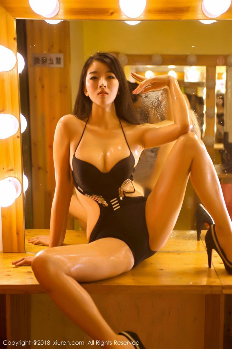XiuRen No.885 9P, Kong Bai Ivy, Xiuren