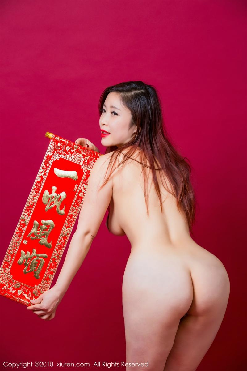XiuRen No.887 36P, Xi Xi Bai Tu, Xiuren