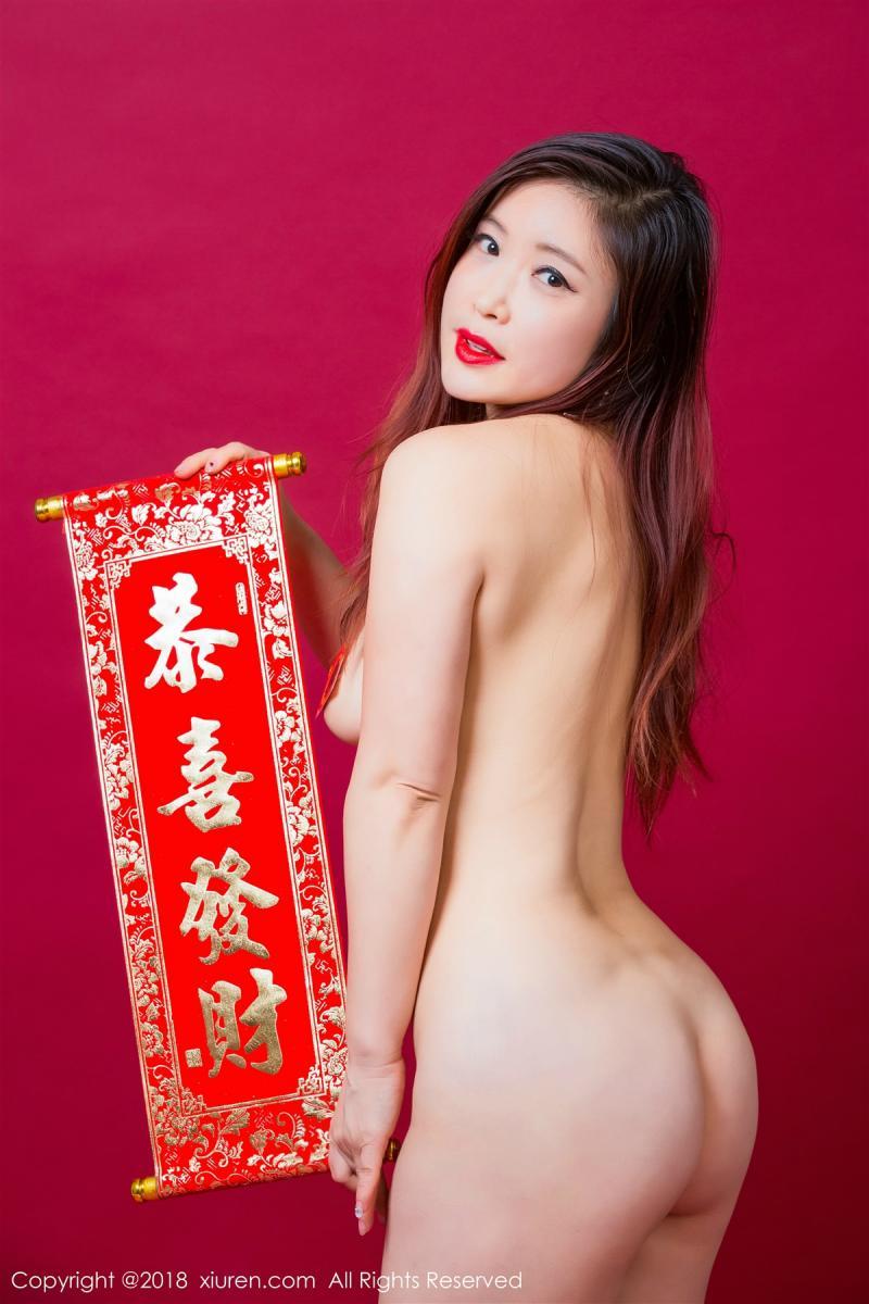XiuRen No.887 39P, Xi Xi Bai Tu, Xiuren