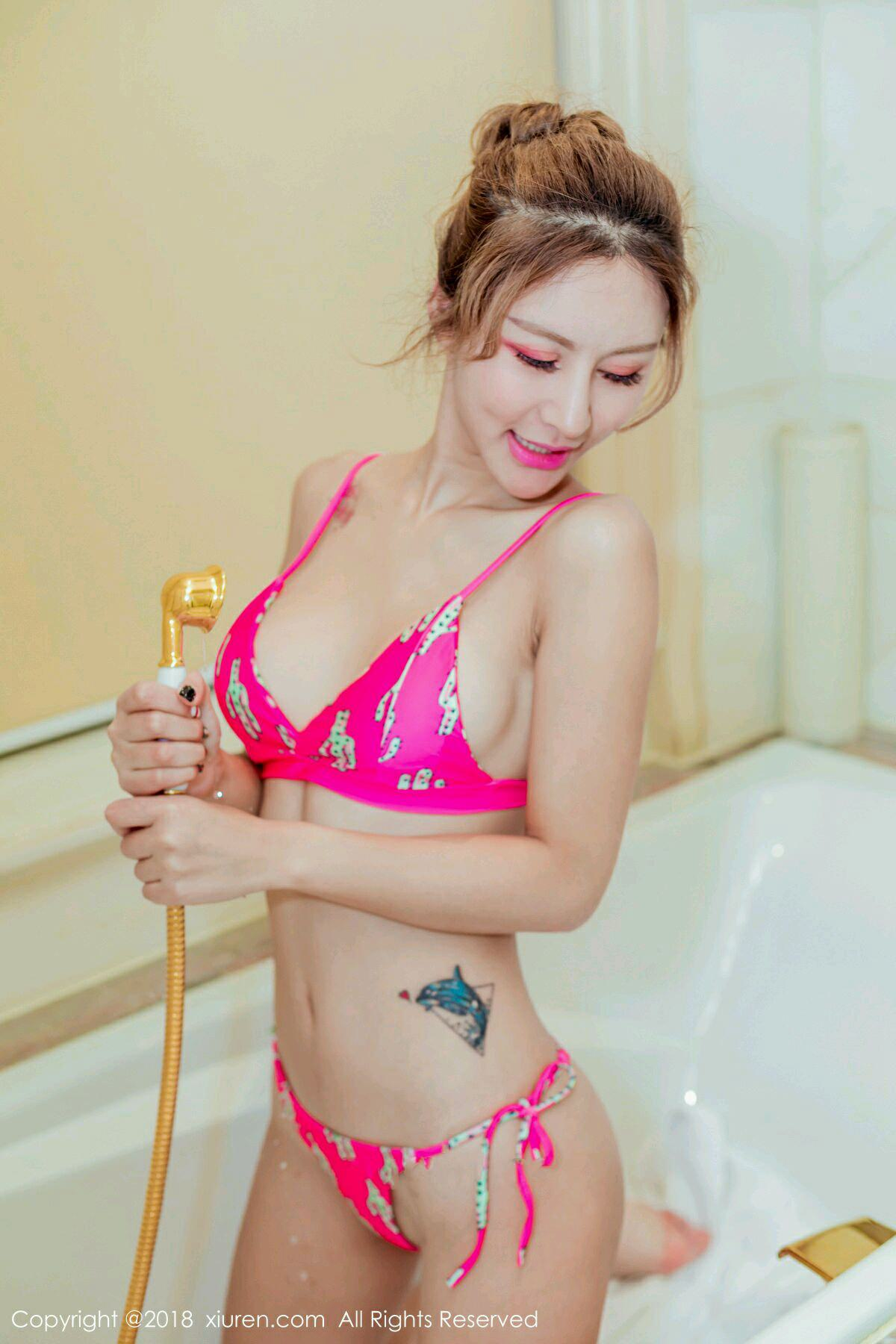 XiuRen No.975 6P, Xiuren, Yan Mei Xi