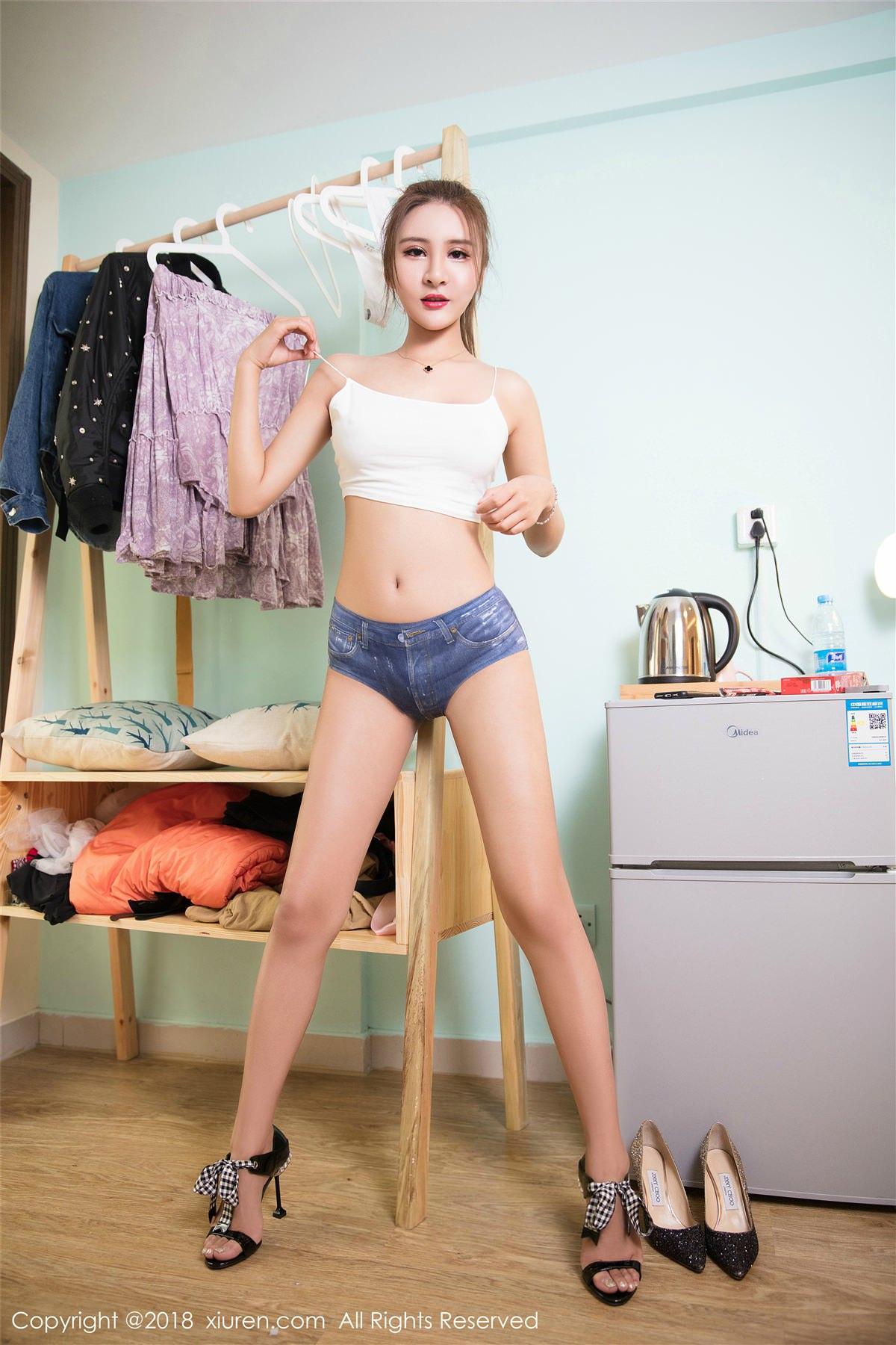XiuRen No.980 3P, Solo Yi Fei, Xiuren