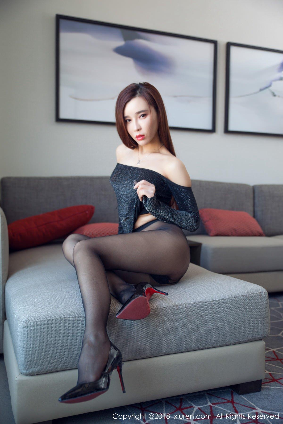 XiuRen No.991 17P, Ai Xiao Qing, Xiuren