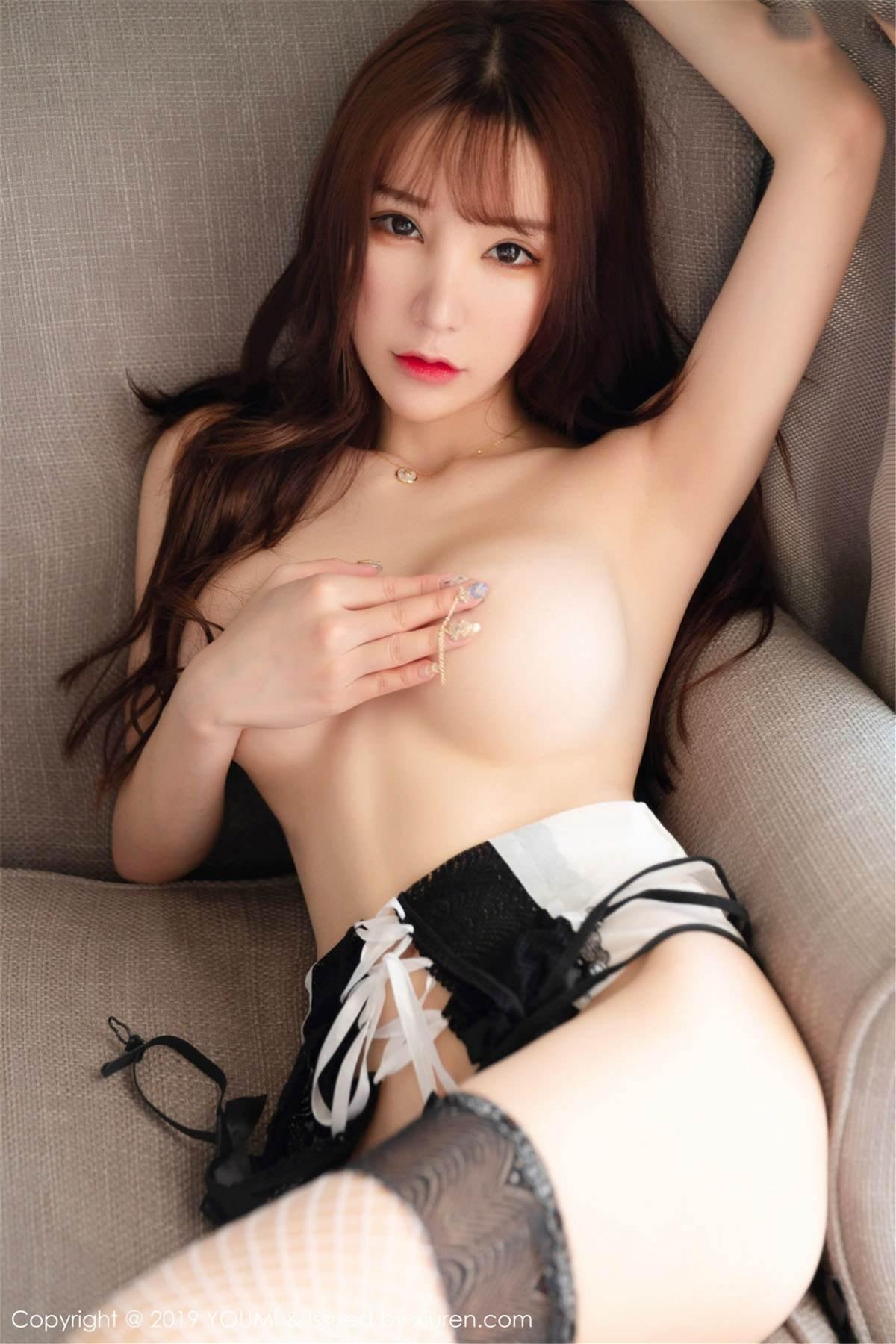 YOUMI Vol.323 44P, YOUMI, Zhou Yu Xi