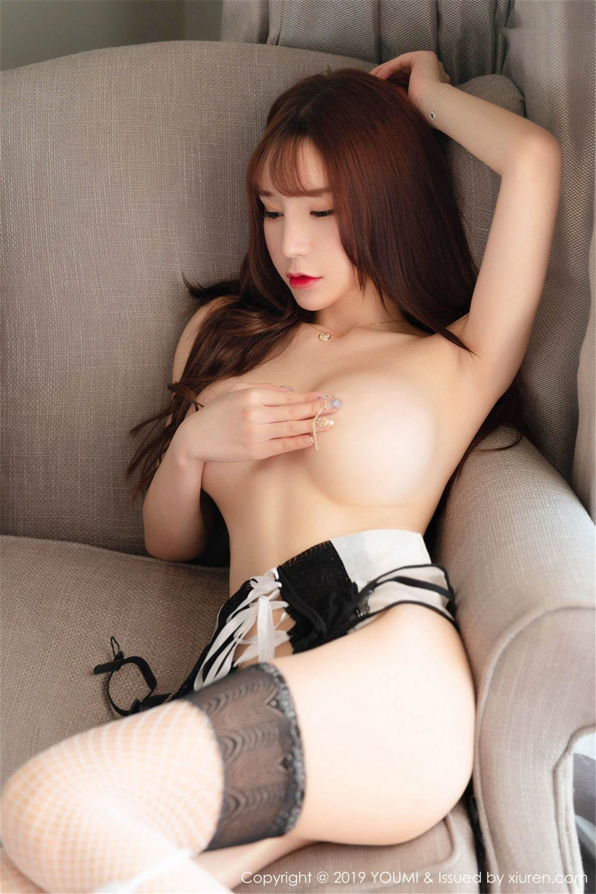 YOUMI Vol.323 50P, YOUMI, Zhou Yu Xi